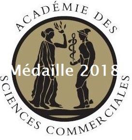 médaille 2018 Académie des sciences commerciale